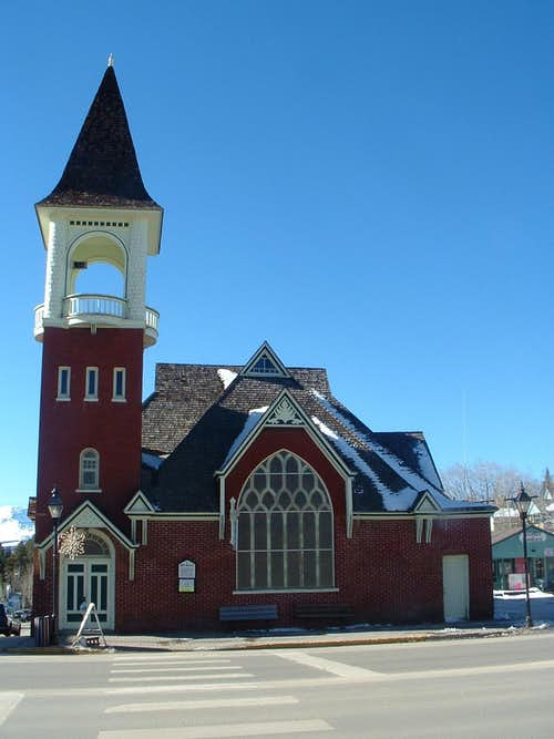 Church in Leadville, CO