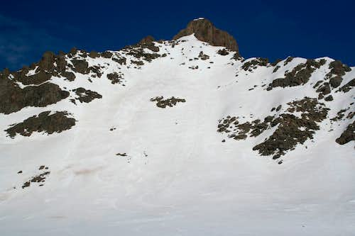 Wetterhorn Peak's East Face