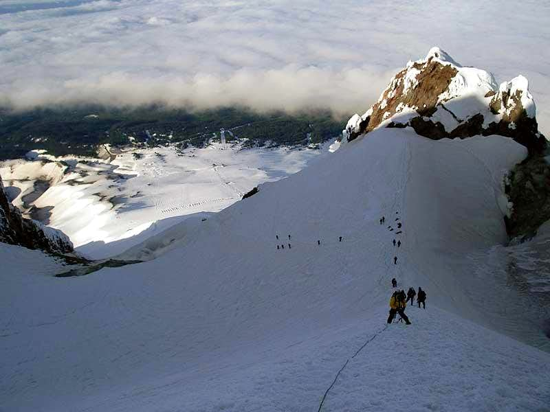 Mt Hood climb,Obsidians outdoor club.