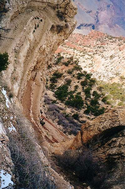Grand Canyon Switchbacks