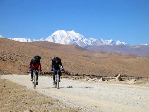 ..near to Shisha Pangma