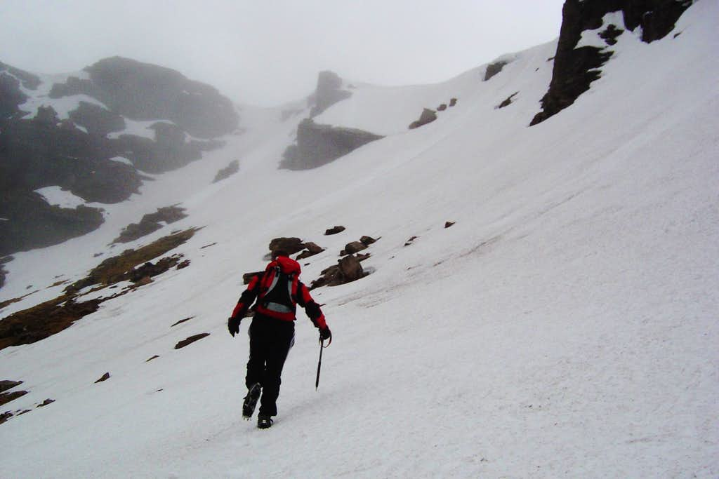 On the way through the Corries to Ben Macdui