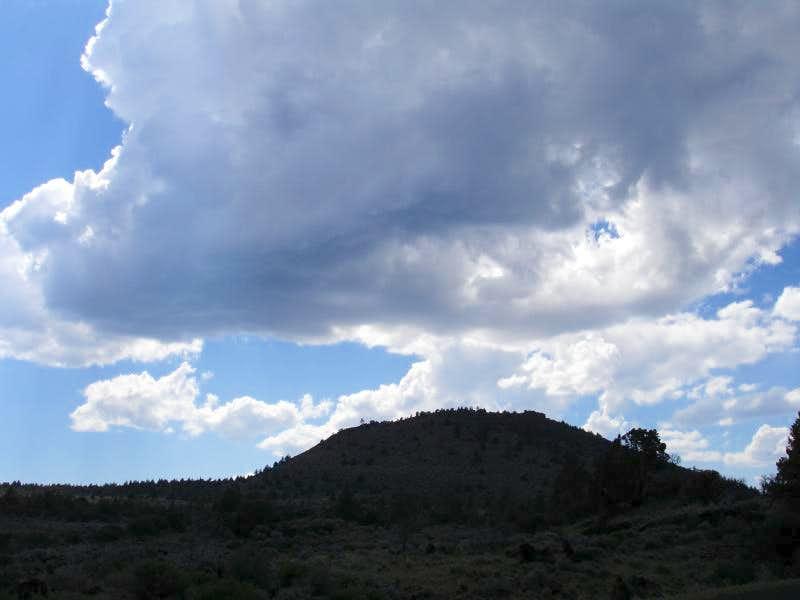 Hippo Butte silhouette