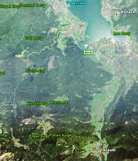 Hirschberg seen from space