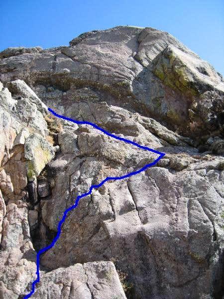 Crux route