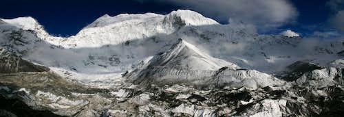Baruntse from Island Peak BC