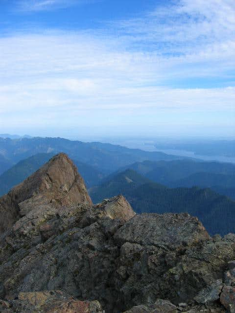Looking N. from Summit