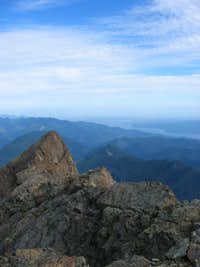 Looking N. from Summit