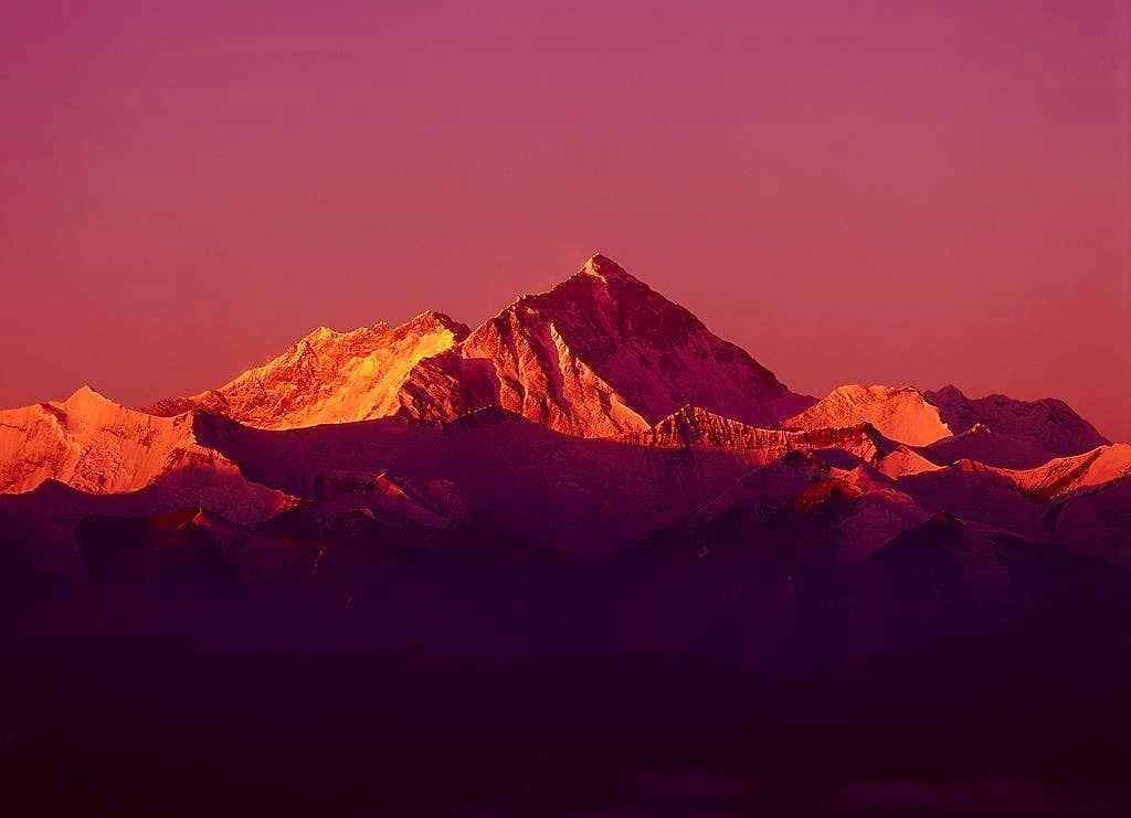 North-east Ridge of Everest...