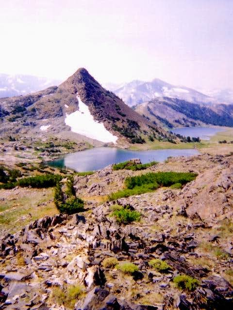 Gaylor Peak and Gaylor Lakes...