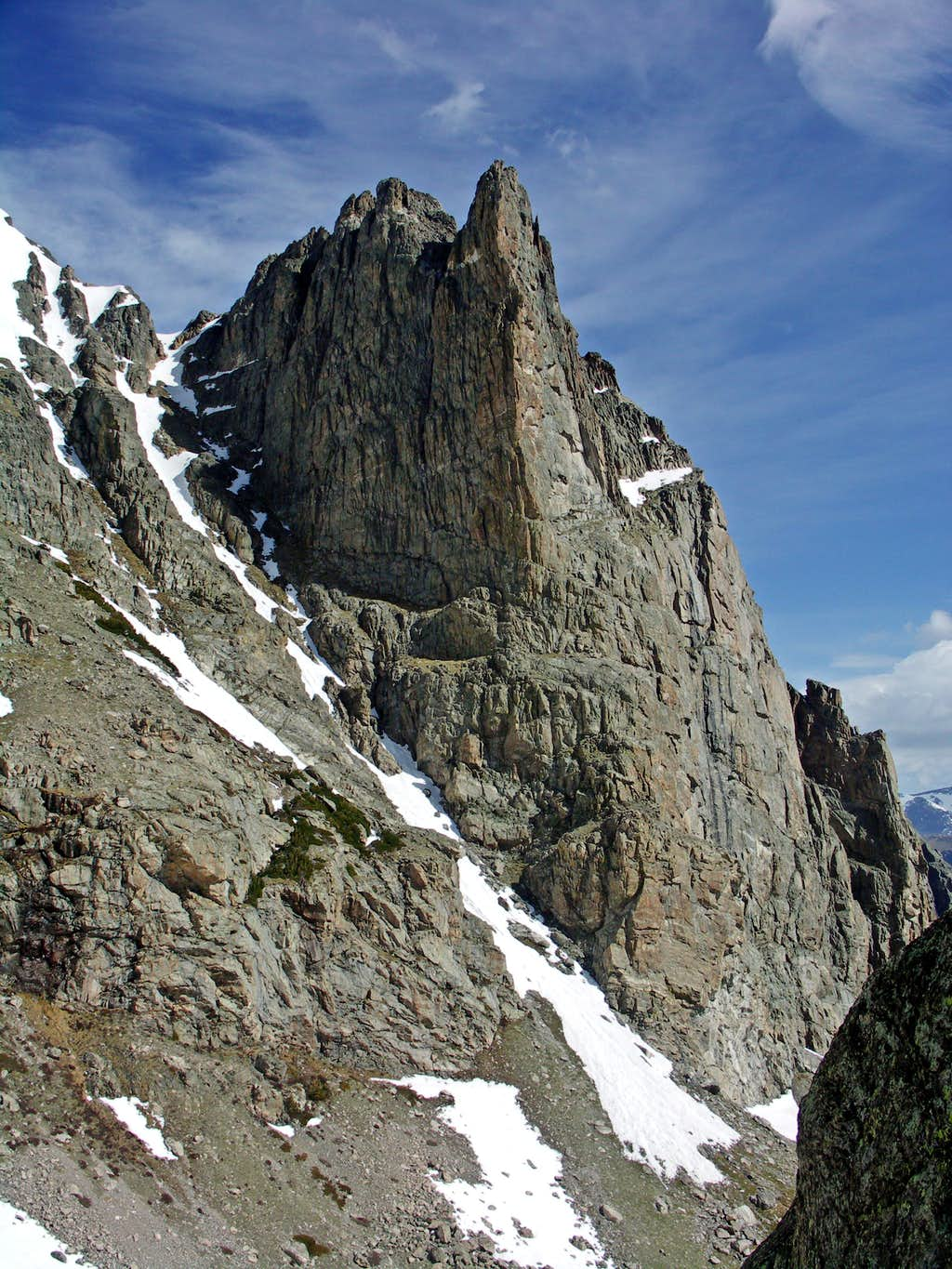 From Flattop Gully