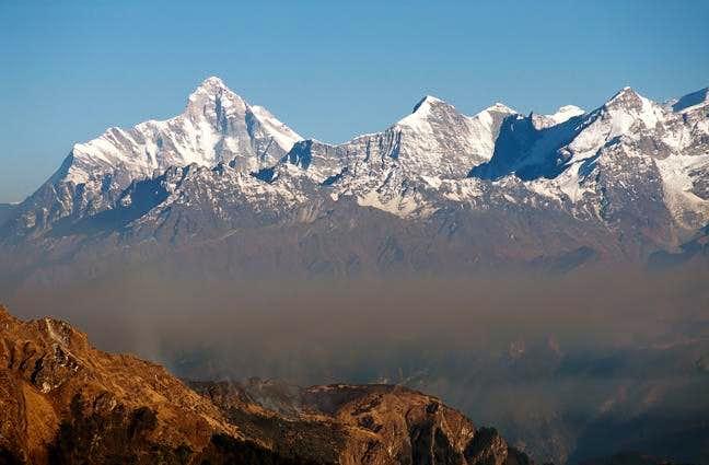 Southwest Wall of the Nanda Devi Sanctuary