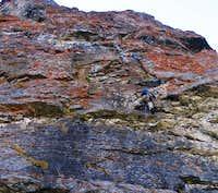 Climbing Devil's Castle