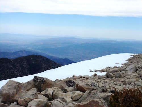 Summit View toward Joshua Tree