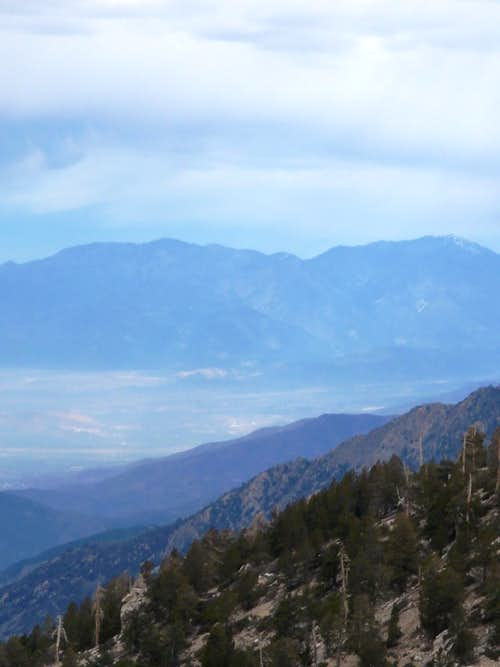 Ridge View of Mount Baldy