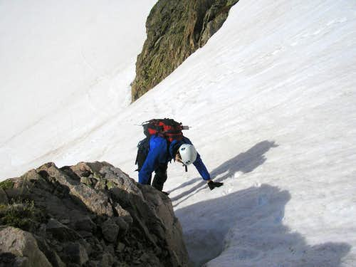 Lower Section, Notchtop Couloir