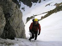 Middle section, Notchtop Couloir