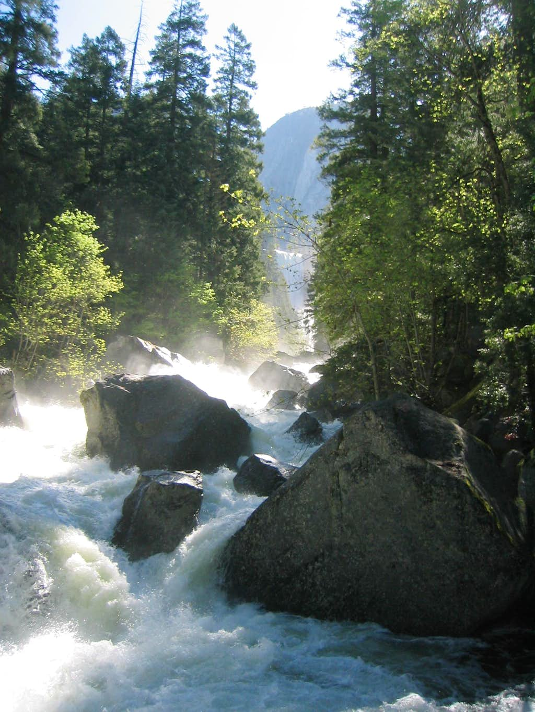 Yosemite Snow Melt