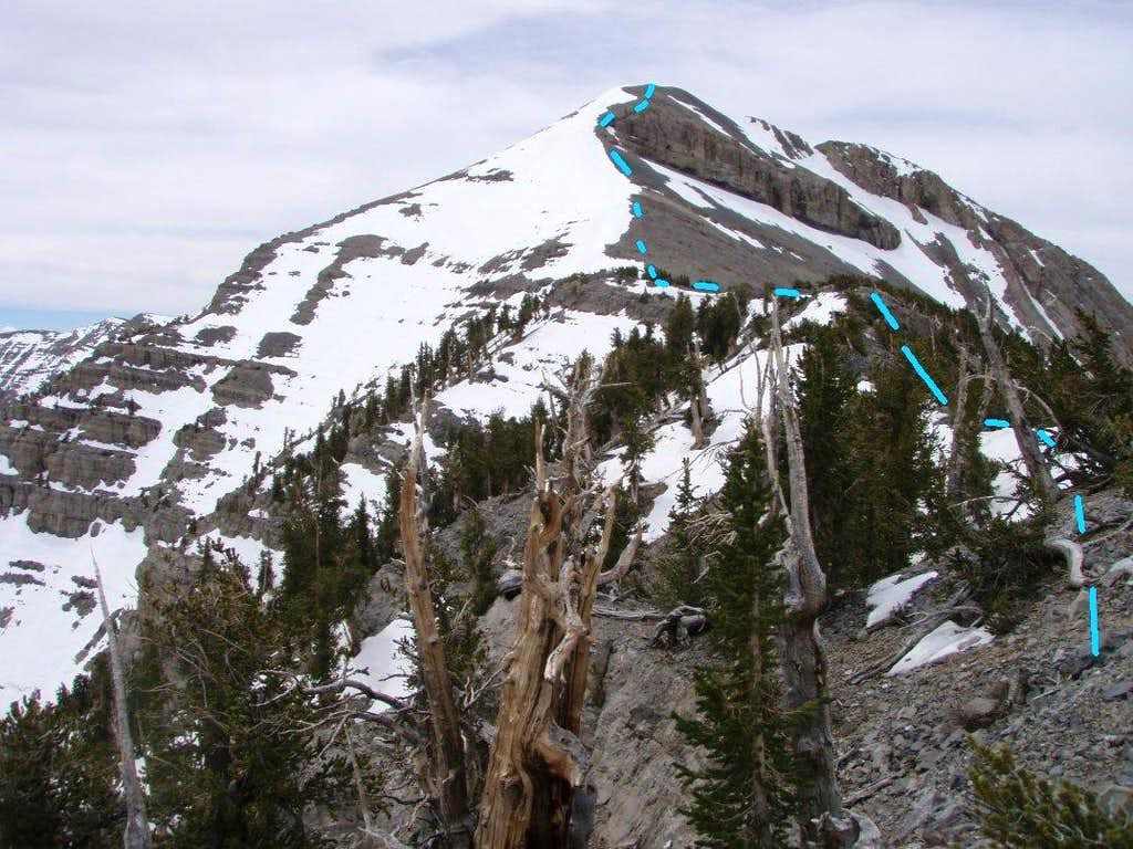 H: View of Summit