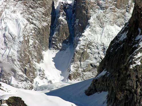 Il ghiacciaio di Planpinceux...