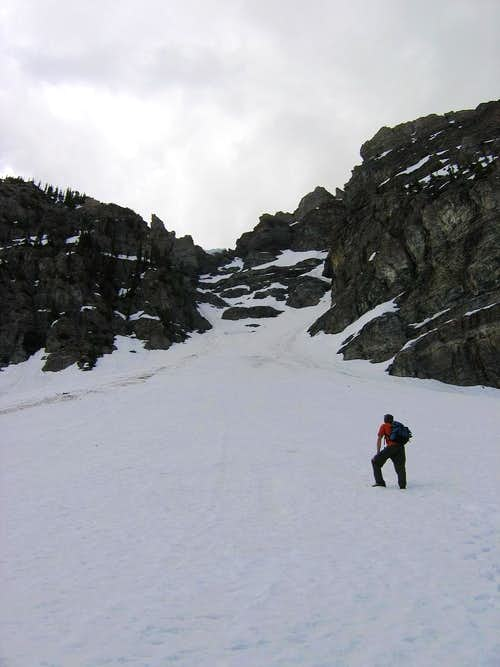 Base of the Couloir