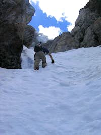 Approaching the Ridge