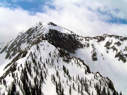 Lone Peak as seen from