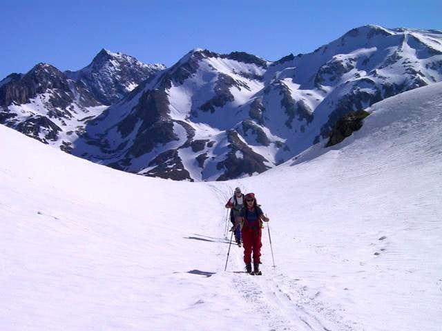 Lucendro: leaving Gotthard...