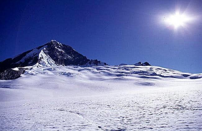 View of Mount Aspiring late...