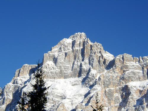 Croda Marcora in winter