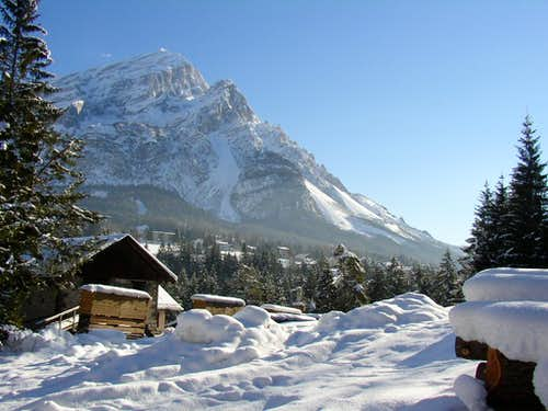 Antelao in winter