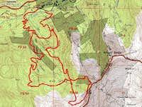 Gad Valley Routes Topo