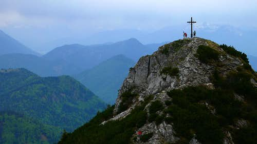 Roßstein peak