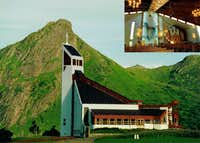 Borge Church, Lofoten Islands