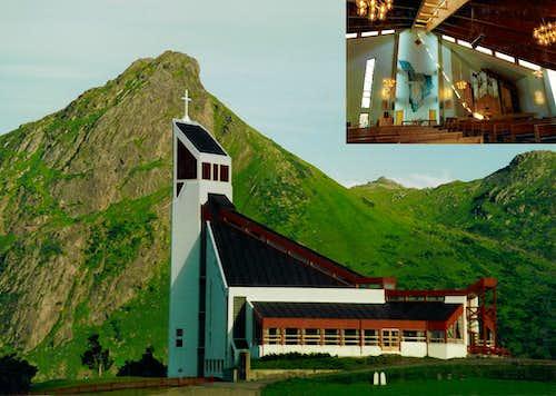 Borge Church, Lofoten Islands