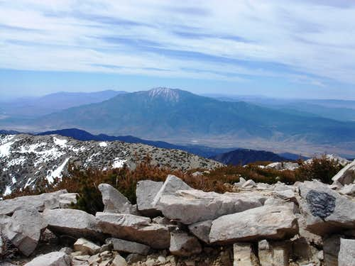 San Jacinto from San Gorgonio\'s Summit