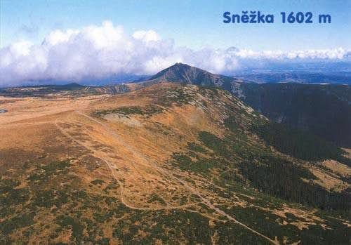A view of Snezka from...