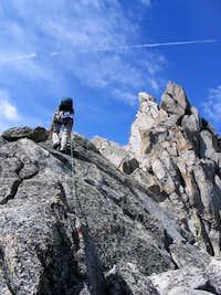 Temple Peak, Northeast Ridge