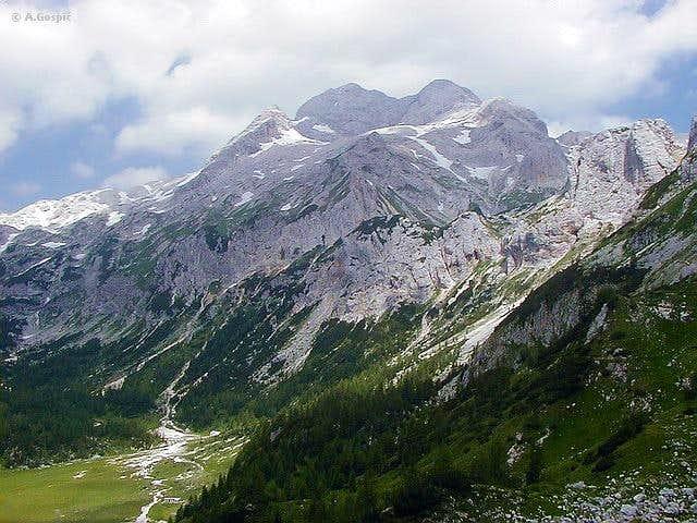 Triglav from Velo Polje