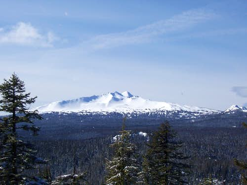 Diamond Peak from westview butte.