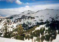 Baldy and Hidden Peaks