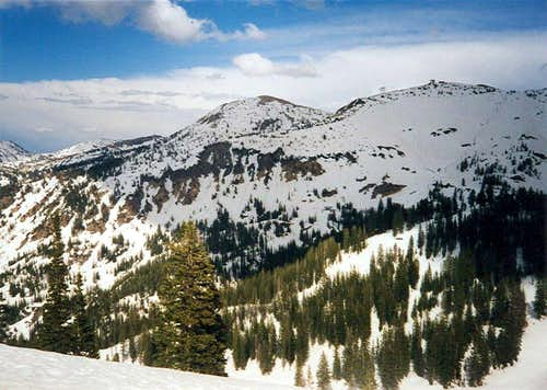 Baldy and Hidden Peaks