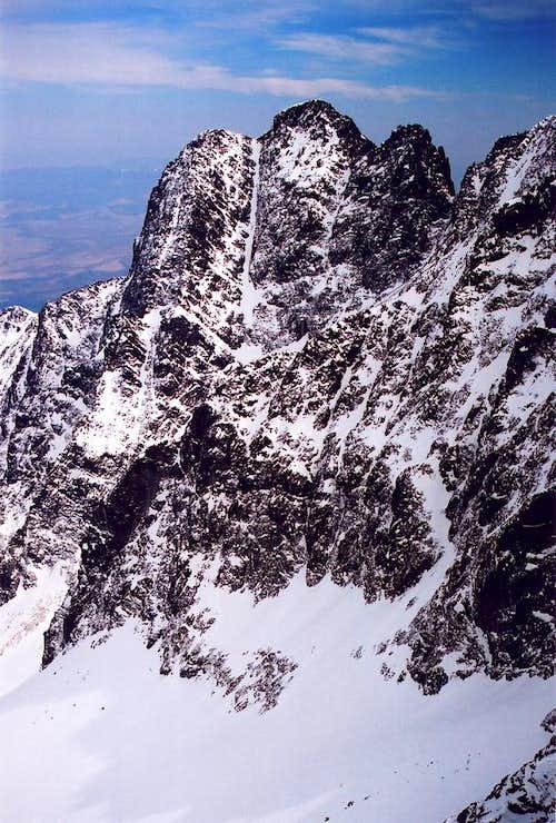 Kezmarsky Stit(2558) - High Tatras