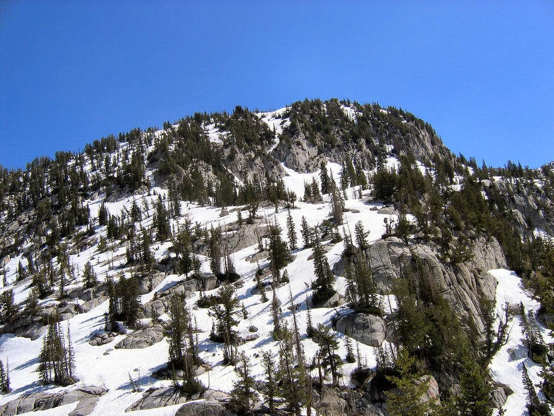 West Ridge from Bells Canyon