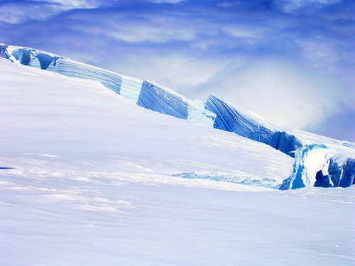 Ingraham Glacier Crevasses