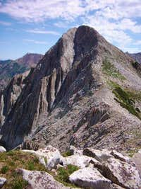 Phiefferhorn from ridege on beatout hike