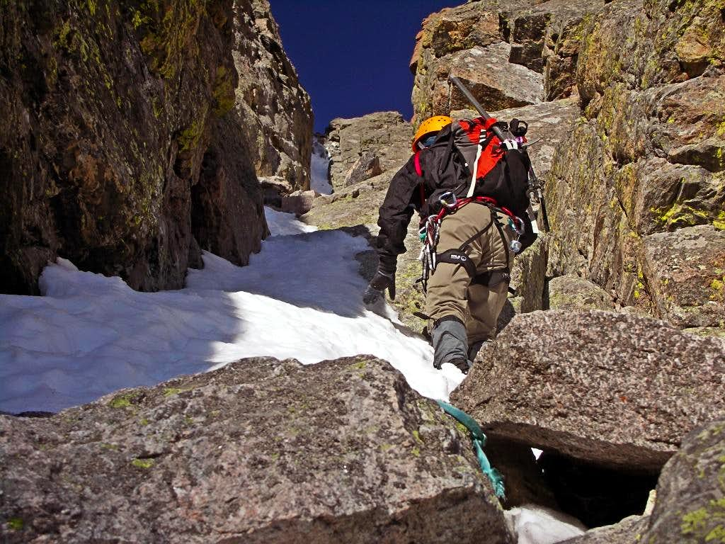 At the Lower Crux of Dream Weaver