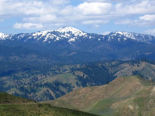 Shafer Butte and Mores Mountain