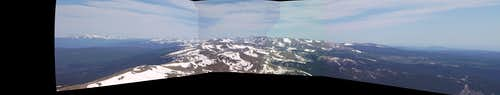Panorama from James Summit