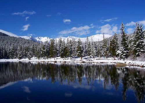 Echo Lake Towards Mt. Evans
